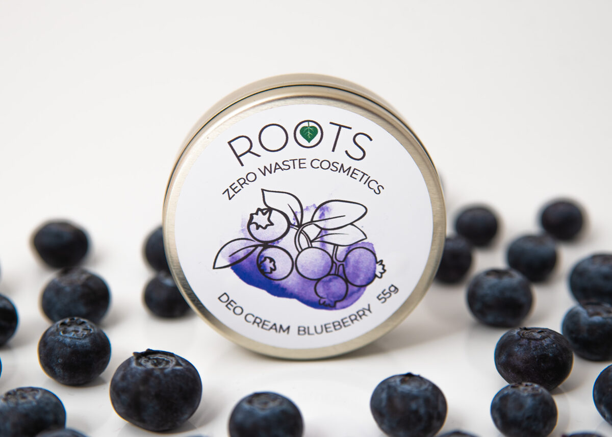NEW! Deo Cream Blueberry