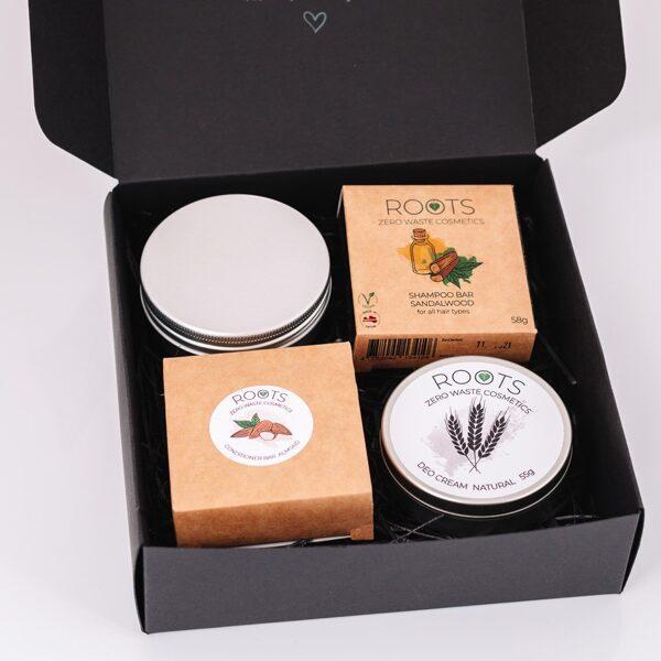 Gift box ROOTS Zero waste starter kit (LARGE)